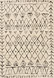 "Loloi EMORY Area Rug, 5'3"" x 7'7"", Heather Gray/Black"