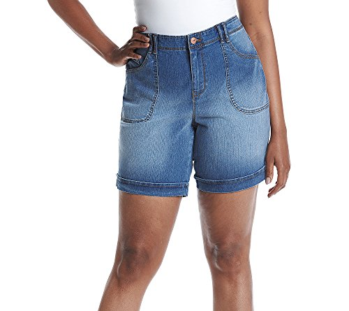 Gloria Vanderbilt rg; Plus Size Denim Shorts Tarsus (Plus Denim Shorts)