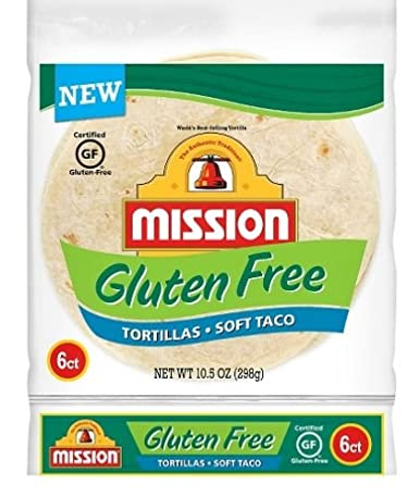 Misión tortillas sin gluten 10.5oz, pack de 1: Amazon.com ...
