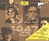 : Centenary Collection 2: Great Voices of the Early Years