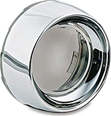 The Kuryakyn 2107 deep dish bezel with lenses for Bullet turn signals allows you to gain a sleeker and racier appearance than stand alone stock lenses. Allows you to customize Kuryakyn Bullet lights to your individual needs. Designed with dee...
