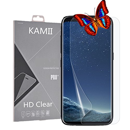 Galaxy S8 Plus Screen Protector, KAMII [Full Coverage] Not Tempered Glass Ultra HD Film Anti-Scratch & Anti-Bubbles High