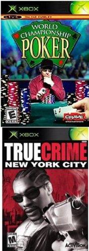 XBOX 2 Pack: World Championship Poker + True Crime: New York City