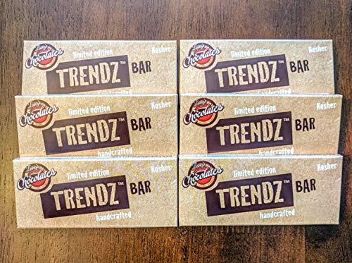 Trendz Bar Sugar free Chocolate Allulose sweetened 6 pack