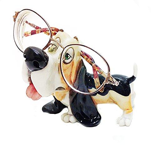 Bassett Hound Dog Breed Novelty Eyeglass Holder Stand ()