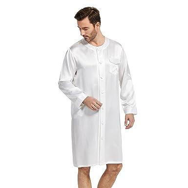 chaussures de sport c0939 eadb5 LILYSILK Pyjama Liquette en Soie pour Homme à Manches Longue ...