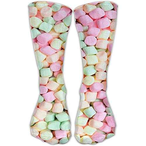 Personalized Marshmallow Color Unisex Short Socks Casual Athletic Outdoor Socks Novelty Socks 30cm