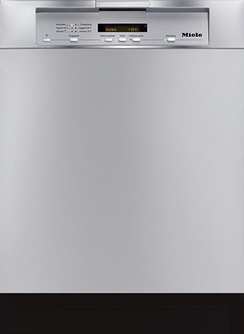 Miele G 5510 SCU CLST Semi-incorporado 14cubiertos A+ lavavajilla ...