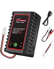 MMOBIEL Intelligent Charger Lader voor 2S-8S 2.4-9.6V Nimh / NiCD /LiPO batterijen - Drone / RC Auto's / Airsoft Guns / Boot Standaard Incl. Mini Tamiya Aansluiting en Alligator Clips
