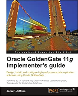 Book Oracle GoldenGate 11g Implementer's guide
