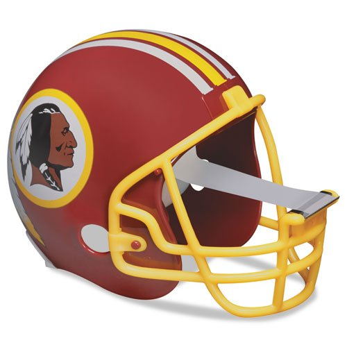 Scotch Magic Tape Dispenser, Washington Redskins Football Helmet with 1 Roll of 3/4 x 350 Inches Tape