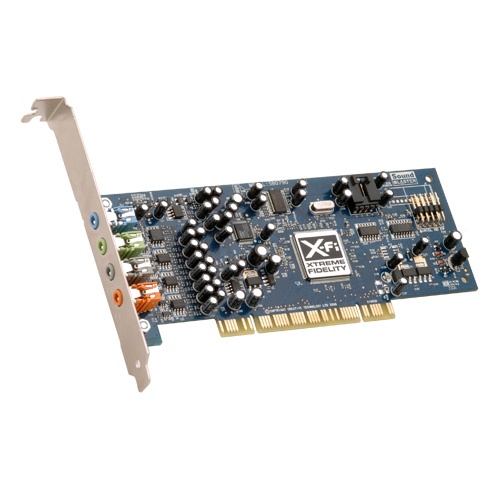 Price comparison product image Creative Labs SB0790 PCI Sound Blaster X-Fi Xtreme Audio Sound Card