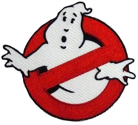 Ghostbuster DIY Uniform Ghost Glow in The Dark Patch Iron ON -