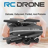 Kanzd 2.4G 4CH Altitude Hold HD Camera Wifi FPV RC Quadcopter Pocket Drone Selfie Fold