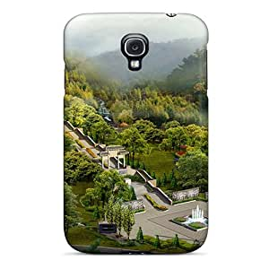 Hot Fashion DaaXvwT4648FdJnS Design Case Cover For Galaxy S4 Protective Case (digital Japan Landscape Hd)