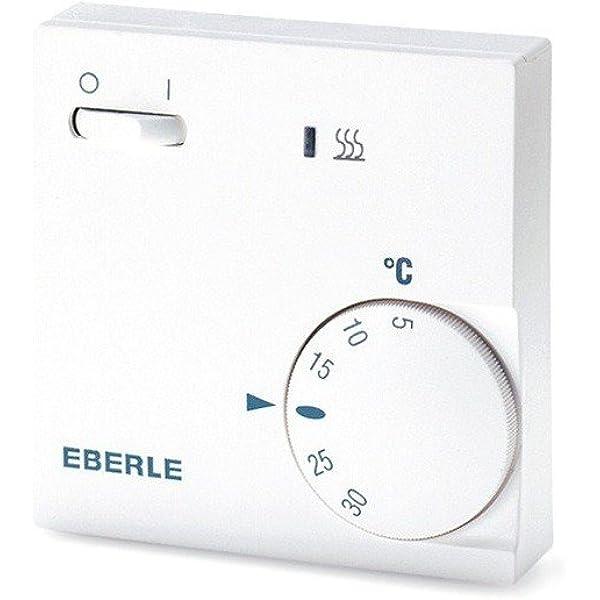 Eberle 111110451100 RTR E 6202 - Termostato con interruptor ...