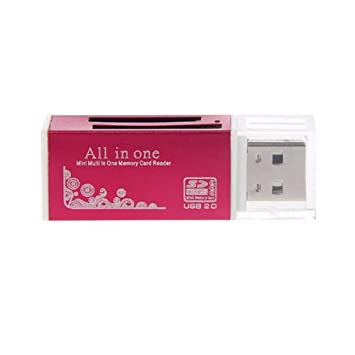 Dandeliondeme Mini Fast Speed USB 2.0 Multi Lector de Tarjetas de ...
