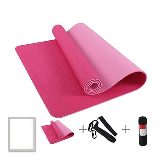 LSJDYU - Esterilla para yoga (183 x 61 x 0,6 cm ...