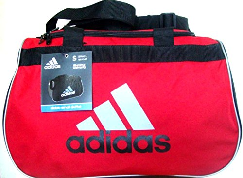 a47ef8e67fd8 adidas Diablo II Gear Up Small Gym Travel All Sports Gear Duffle Bag  (University Red Classic Black Silver) - Buy Online in Oman.
