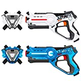 Best Choice Products Set of 2 Kids Laser Tag Blasters w/ Vests, Multiplayer
