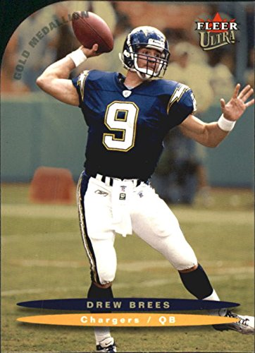 detailed look 62db0 d339b 2003 Ultra Gold Medallion #152 Drew Brees - Chargers at ...