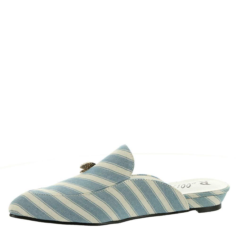 US Denim-Stripe Bellini Formosa Womens Slip On 12 B M