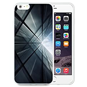 NEW Unique Custom Designed iPhone 6 Plus 5.5 Inch Phone Case With Tall Glass Building_White Phone Case