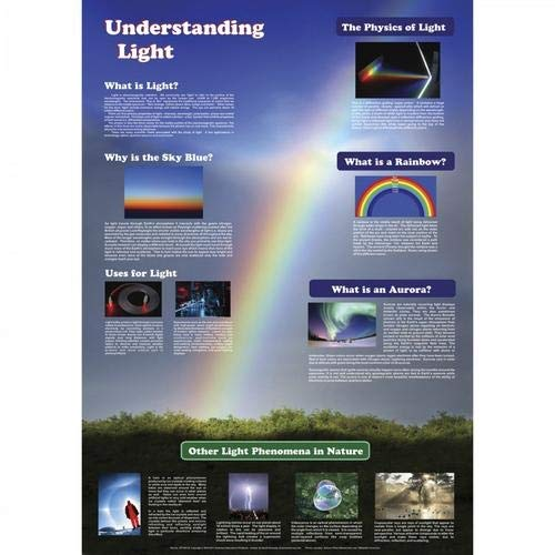 American Educational Products JPT-80134, Understanding Light Poster, Pack of 20 pcs by American Educational Products (Image #1)