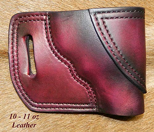 Gary C's Leather OWB Avenger RH Leather Holster for the S&W J Frame 2