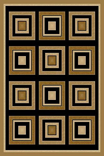 Artistry Rugs King Modern Contemporary Door Mat 2x3 2X4 Rug Abstract Doormat 885 Beige Cream - Perfect for The Living Room, Dining Room, Bedroom, Hallway