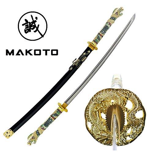 Makoto Handmade Sharp Japanese Katana Samurai Sword 42