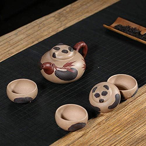 LONGJUAN-C theepot Clear Sand Pot Shadow Model Yixing theepot Set Business Gift Set Tea Set Thee ketel