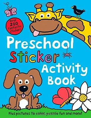 Preschool Sticker Activity Book from Priddy Books