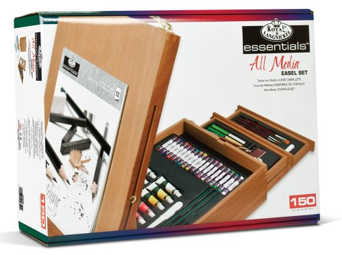 b16d4ec9c3908 Royal & Langnickel All Media Easel Artist Set (150Piece)