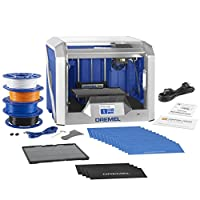 Dremel Digilab 3D40 3D Printer, Idea Builder and Education Accessories (Lesson Plans, Professional Development Course, build plate, build tape, filament) from Dremel