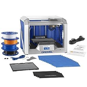 Dremel Digilab 3D40 3D Printer, Idea Builder and Education Accessories (Lesson Plans, Professional Development Course, build plate, build tape, filament) from Dremel