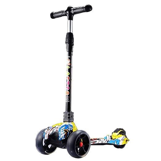 Patinetes clásicos Kick Scooter Plegable con PU Rueda ...