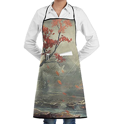 Rain Sewing Aprons With Pocket Kits Adjustable Home Kitchen -