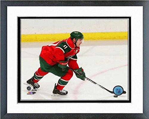 Zach Parise Framed Photo - Zach Parise Minnesota Wild NHL Action