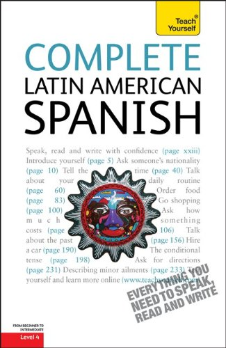 Complete Latin American Spanish: A Teach Yourself Guide (Teach Yourself Language)