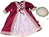 Historical DAR Girls 6 7 8 10 12 Colonial America Dress Gown Felicity Elizabeth American Elsa Anna Disney Frozen