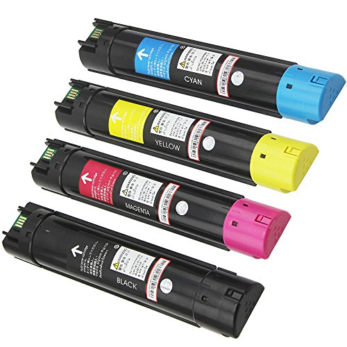 Compatible Phaser (4PK Caire(TM) Premium Compatible Xerox Phaser 6700 6700N 6700DN 6700DT 6700DX Toner Cartridge 106R01510 106R01507 106R01508 106R01509 (KCMY))