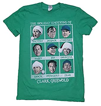 Christmas Vacation Emotions Of Clark Griswold Green