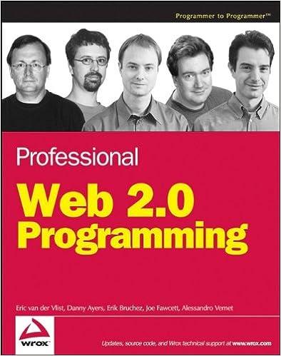 Professional Web 2.0 Programming