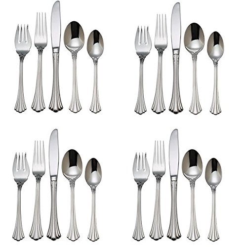 (Reed & Barton 1800 18/10 Stainless Steel - 20 Piece Set (Service for Four))