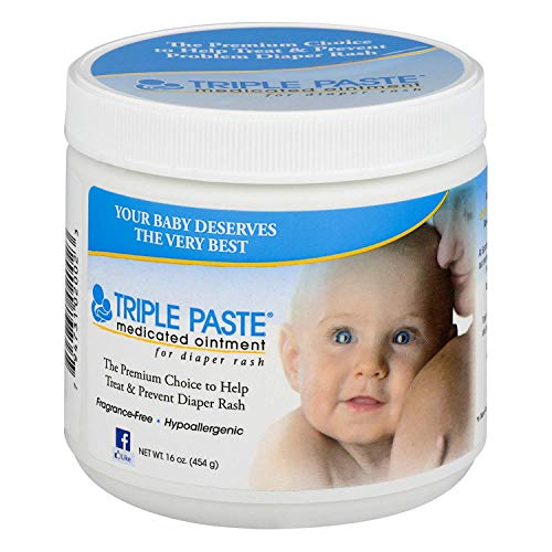 Triple Paste Medicated Ointment for Diaper Rash, 48 Ounces