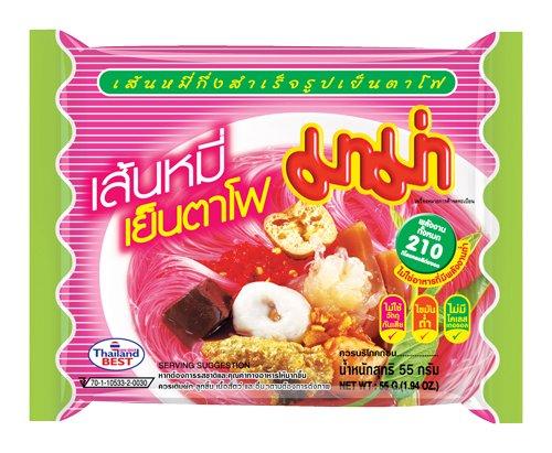 Mama Instant Rice Vermicelli Yentafo - Paquete de 90 x 55 gr - Total: 4950 gr: Amazon.es: Alimentación y bebidas