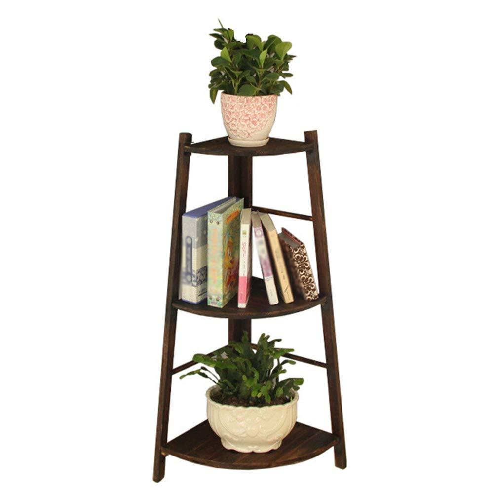 ASDFNF Flower Stand, Creative Multi-Layer Balcony Corner Ladder ...