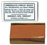 Sherman Violin Rosin: Light thumbnail