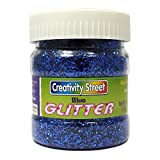 CHENILLE KRAFT COMPANY GLITTER 4 OZ. BLUE (Set of 24)